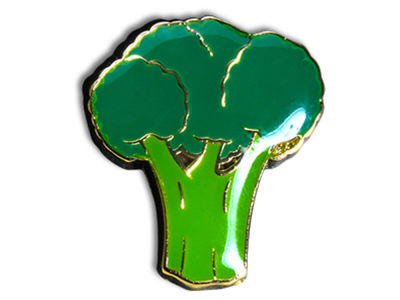 King Pins Broccoli Hat Pin