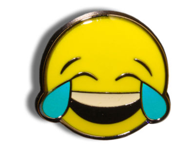 King Pins Crying Laugh Hat Pin