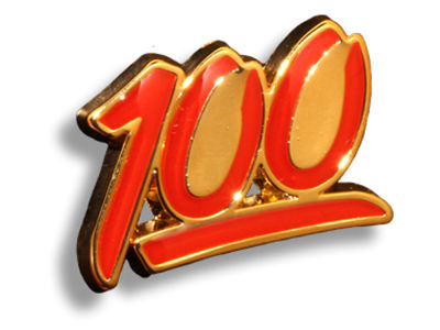 King Pins 100 Hat Pin