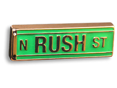 King Pins N Rush St Hat Pin