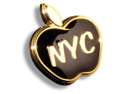 King Pins NYC Apple Hat Pin