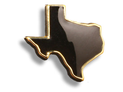 King Pins Texas Outline Hat Pin