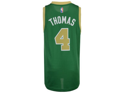 Boston Celtics Isaiah Thomas adidas NBA Men's New Swingman Jersey
