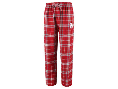 Oklahoma Sooners Concept Sports NCAA Men's Huddle Flannel Pant