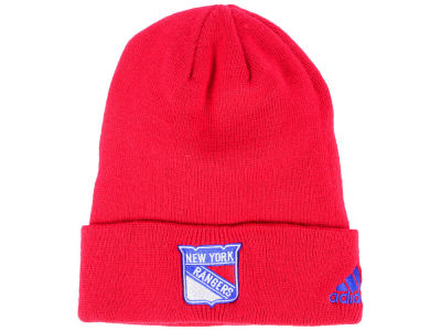 New York Rangers adidas NHL Basic Cuff Knit