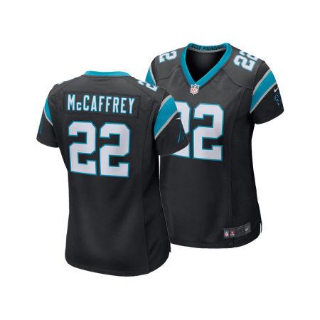 Carolina Panthers Christian McCaffrey Nike NFL Women's Game Jersey