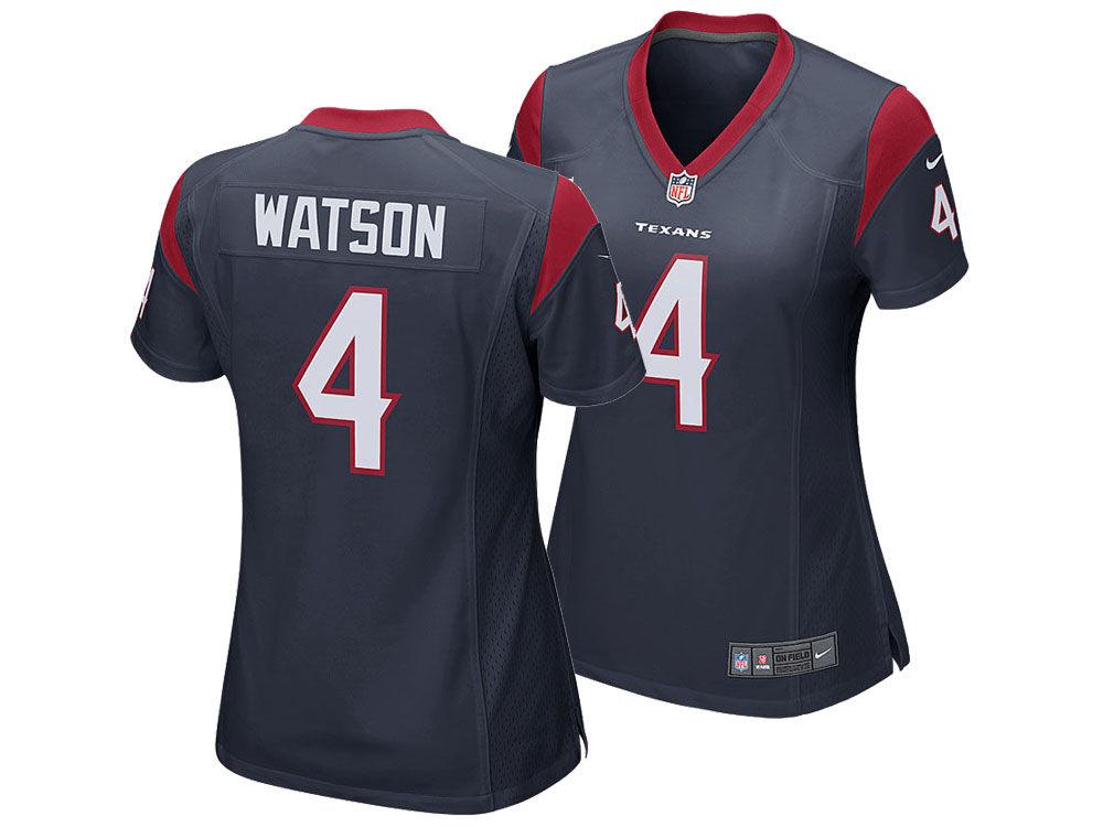 b3dc96a95 Houston Texans DeShaun Watson Nike NFL Women s Game Jersey
