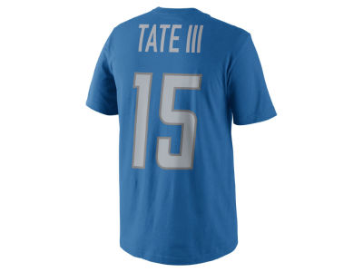 Detroit Lions Golden Tate Nike NFL Men's Pride Name and Number T-Shirt