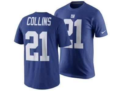 New York Giants Landon Collins Nike NFL Men's Pride Name and Number T-Shirt