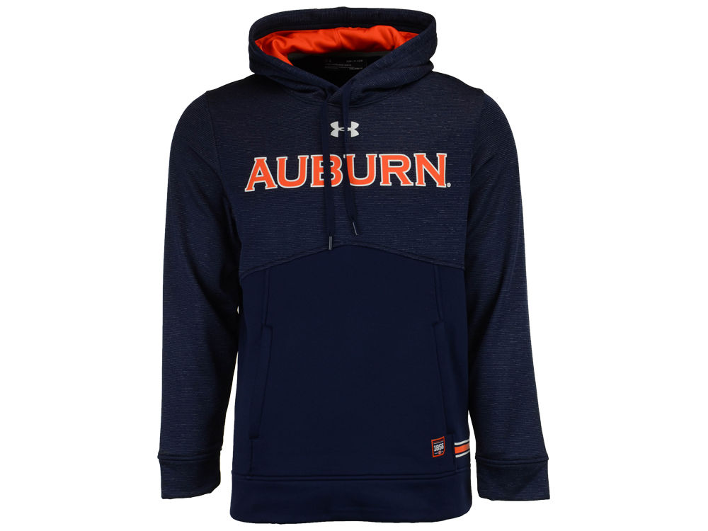 333b0b7180 Auburn Tigers Under Armour NCAA Men s Sideline Storm Armour Hoodie ...
