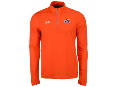 Auburn Tigers Under Armour NCAA Men's Sideline Microthread Quarter Zip Pullover