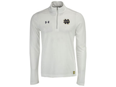 Notre Dame Fighting Irish Under Armour NCAA Men's Sideline Microthread Quarter Zip Pullover