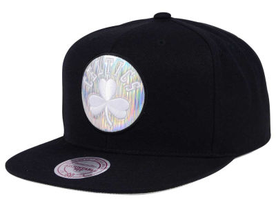 Boston Celtics Mitchell & Ness NBA Easy Hologram Snapback Cap