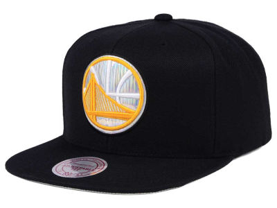 Golden State Warriors Mitchell & Ness NBA Easy Hologram Snapback Cap