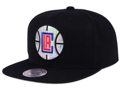 Los Angeles Clippers Mitchell & Ness NBA Easy Hologram Snapback Cap