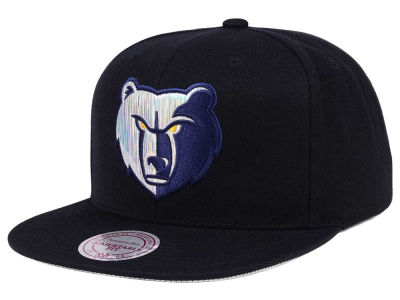 Memphis Grizzlies Mitchell & Ness NBA Easy Hologram Snapback Cap
