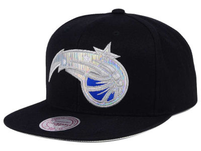 Orlando Magic Mitchell & Ness NBA Easy Hologram Snapback Cap