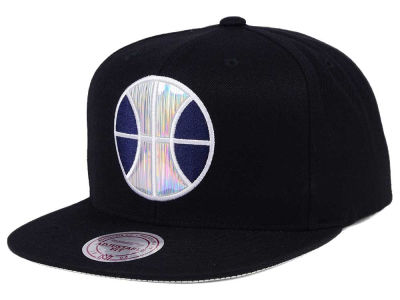 Utah Jazz Mitchell & Ness NBA Easy Hologram Snapback Cap