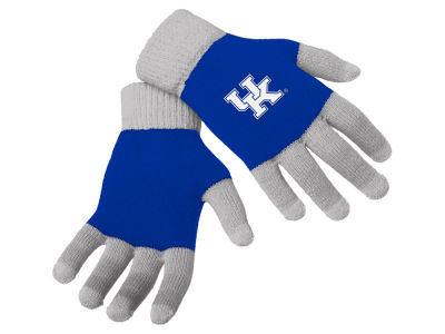 Kentucky Wildcats Forever Collectibles Color Block Knit Texting Glove