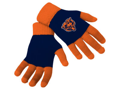 Chicago Bears Forever Collectibles Color Block Knit Texting Glove