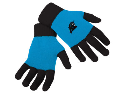 Carolina Panthers Forever Collectibles Color Block Knit Texting Glove