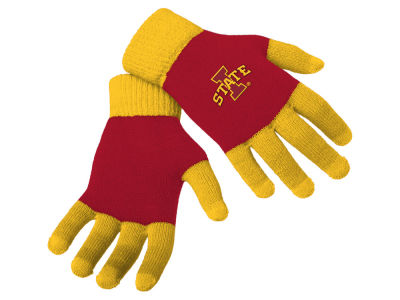 Iowa State Cyclones Forever Collectibles Color Block Knit Texting Glove