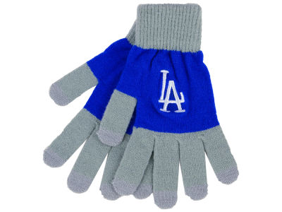 Los Angeles Dodgers Color Block Knit Texting Glove