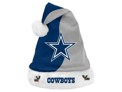 Dallas Cowboys Knit Sweater Santa Hat