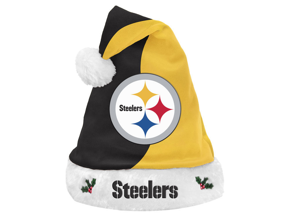 b19d6c9ee Pittsburgh Steelers Knit Sweater Santa Hat