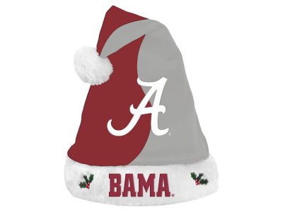 Alabama Crimson Tide Knit Sweater Santa Hat