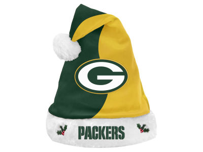 Green Bay Packers Knit Sweater Santa Hat