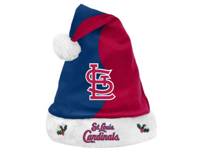 St. Louis Cardinals Knit Sweater Santa Hat