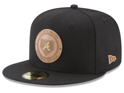 Atlanta Braves New Era MLB Vintage Black 59FIFTY Cap
