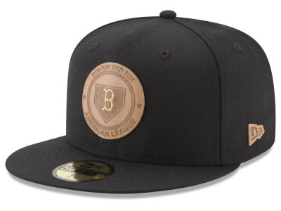 Boston Red Sox New Era MLB Vintage Black 59FIFTY Cap