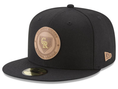 Colorado Rockies New Era MLB Vintage Black 59FIFTY Cap