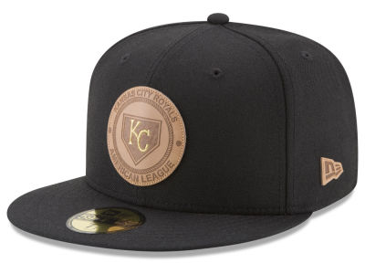 Kansas City Royals New Era MLB Vintage Black 59FIFTY Cap