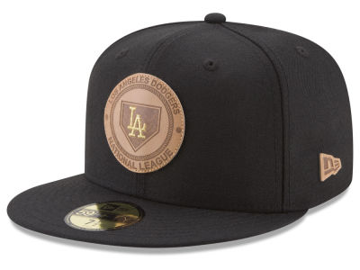 Los Angeles Dodgers New Era MLB Vintage Black 59FIFTY Cap