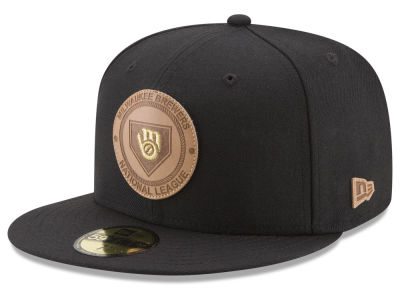 Milwaukee Brewers New Era MLB Vintage Black 59FIFTY Cap