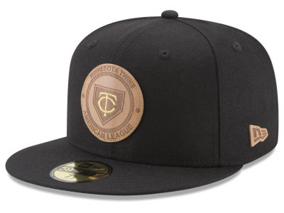 Minnesota Twins New Era MLB Vintage Black 59FIFTY Cap