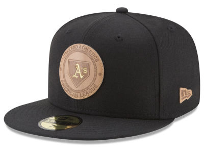 Oakland Athletics New Era MLB Vintage Black 59FIFTY Cap