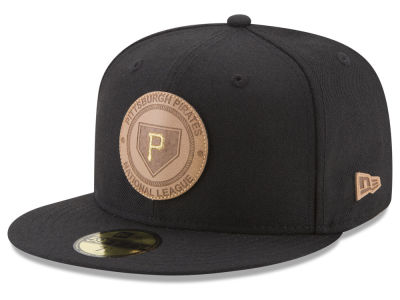 Pittsburgh Pirates New Era MLB Vintage Black 59FIFTY Cap