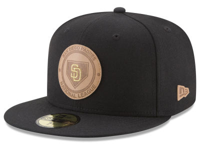 San Diego Padres New Era MLB Vintage Black 59FIFTY Cap
