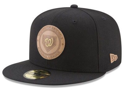 Washington Nationals New Era MLB Vintage Black 59FIFTY Cap