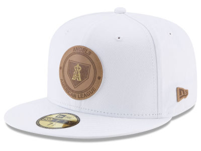 Los Angeles Angels New Era MLB Vintage White 59FIFTY Cap
