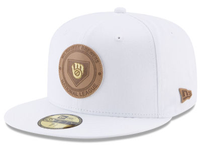 Milwaukee Brewers New Era MLB Vintage White 59FIFTY Cap