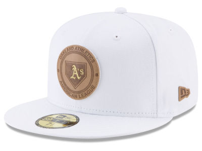 Oakland Athletics New Era MLB Vintage White 59FIFTY Cap
