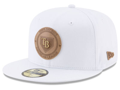Tampa Bay Rays New Era MLB Vintage White 59FIFTY Cap