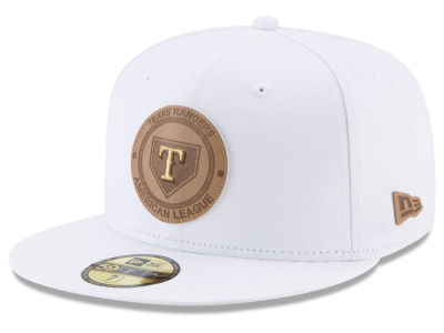 Texas Rangers New Era MLB Vintage White 59FIFTY Cap