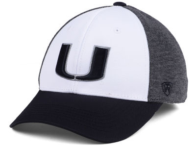 Miami Hurricanes Top of the World NCAA Hustle Hard Flex Cap