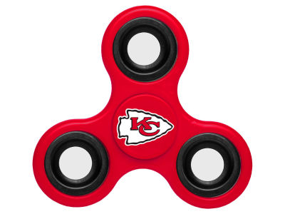 Kansas City Chiefs Forever Collectibles Three Way Fidget Spinnerz